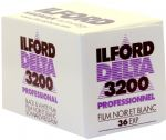 Ilford Delta 3200 iso  36 exposure Black & White Camera Film